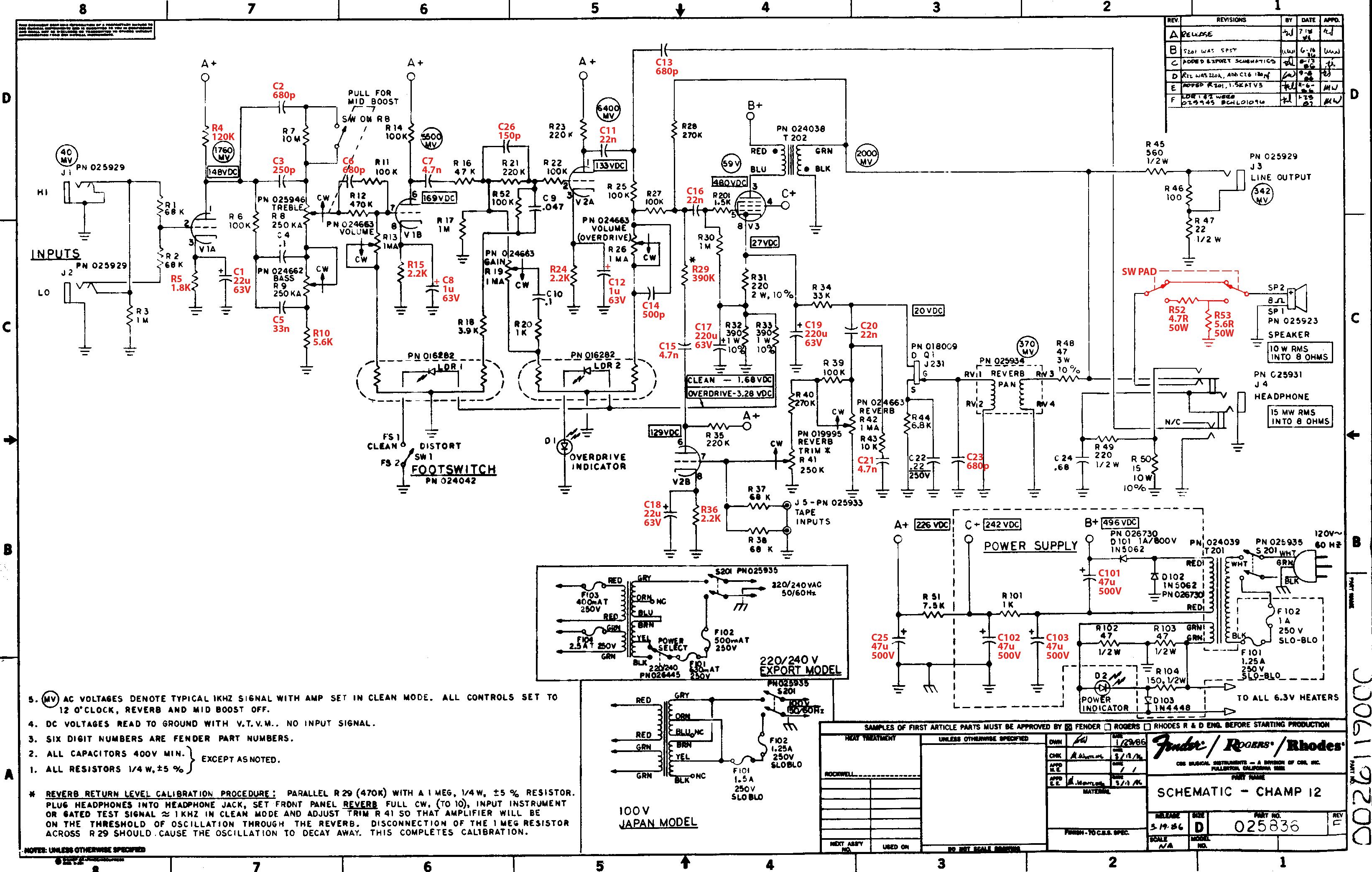 vintage hiwatt amp schematic